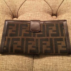 AUTHENTIC Monogramed Fendi Wallet